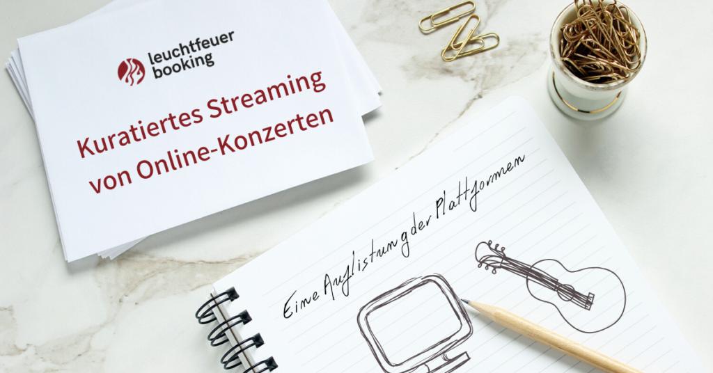 Online Konzerte Streaming Plattformen