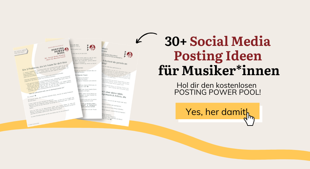 Social Media Ideen für Musiker