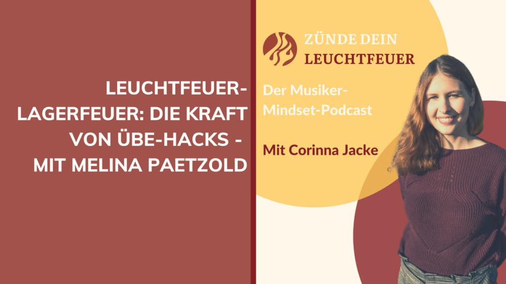 Die Kraft von Übe-Hacks – mit Melina Paetzold
